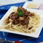 resep fettucini black pepper